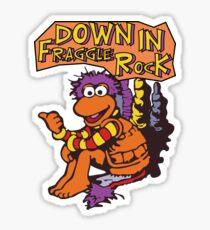 Fraggle Rock Fraggles 80s Muppets Gobo 1980s Comic Cartoon Sticker
