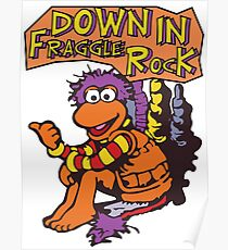 Fraggle Rock Fraggles 80s Muppets Gobo 1980s Comic Cartoon Poster