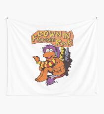 Fraggle Rock Fraggles 80s Muppets Gobo 1980s Comic Cartoon Wall Tapestry