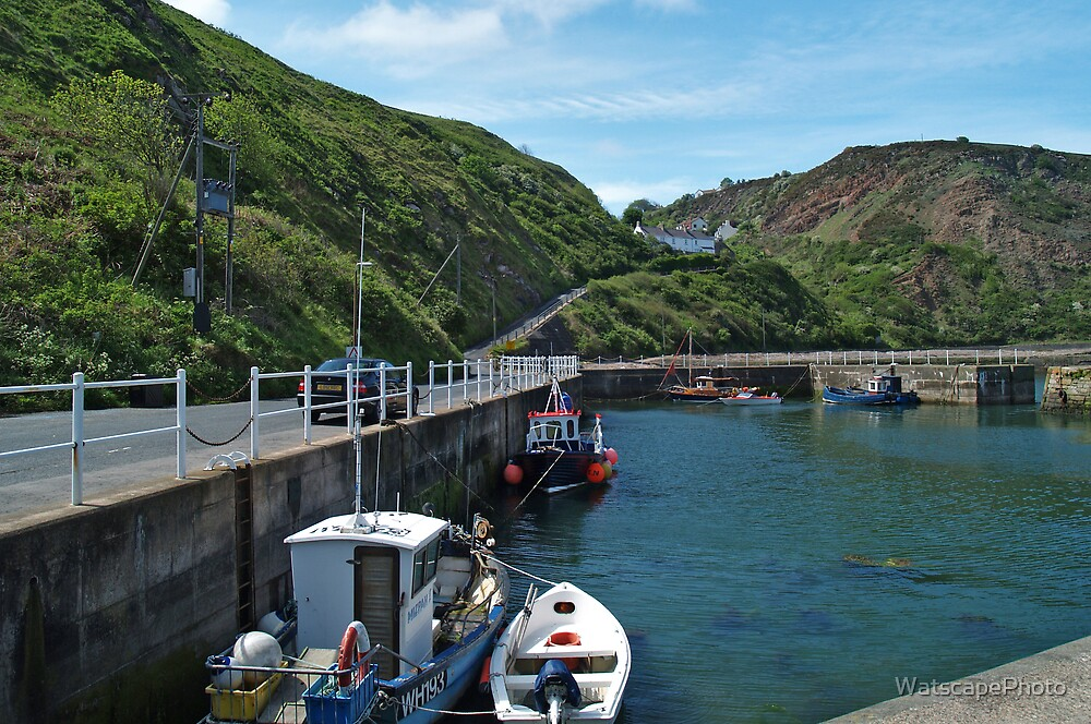 Burnmouth Harbour 3 by WatscapePhoto