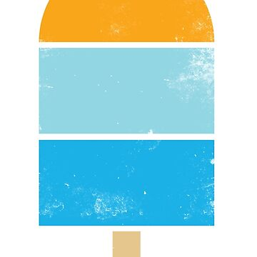 Sunset Ocean Popsicle by Vanphirst