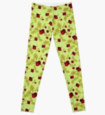 Celery Beauty and the Beets Leggings