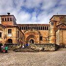 Santillana del Mar Collegiate Church by Tom Gomez