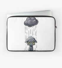 Cat Having A Bad Day Laptop Sleeve