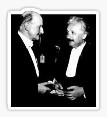 Max Planck x Albert Einstein Sticker