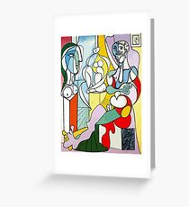 Tarjeta de felicitación Pablo Picasso El escultor, 1931 camisa de la obra, reproducción