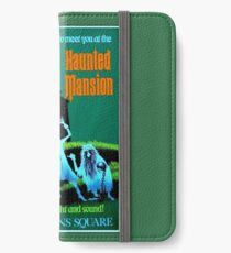 NEW ORLEANS : Vintage Haunted Mansion Advertising Print iPhone Wallet/Case/Skin