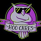 Hoo Cares (purple) by strangethingsA