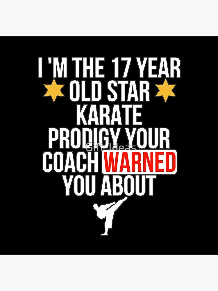 17 Year old Karate Star player von Gift-Ideas