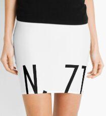 Rhode Island Coordinates Mini Skirt