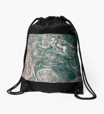 Jupiter Abstract Painting Drawstring Bag