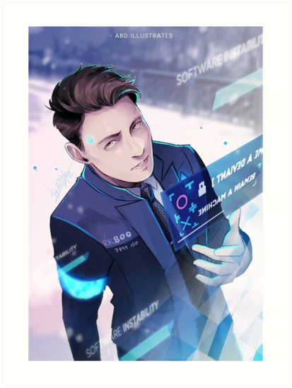 My Name is Connor by mangarainbow