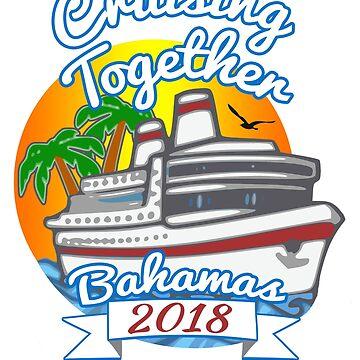 Cruising Together Bahamas Celebration Cruise T Shirt by techman516