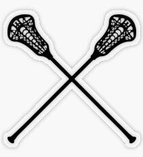 Lacrosse Sticks  Transparent Sticker