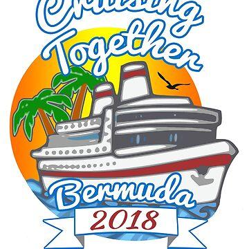 Cruising Together Bermuda Celebration Cruise T Shirt by techman516