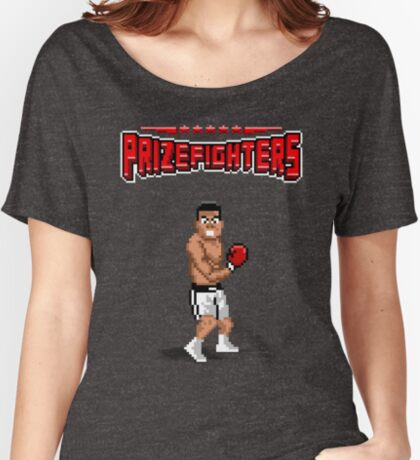 Prizefighters Logo and Icon Relaxed Fit T-Shirt