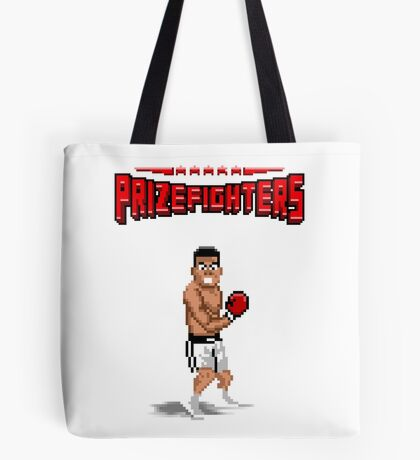 Prizefighters Logo and Icon Tote Bag