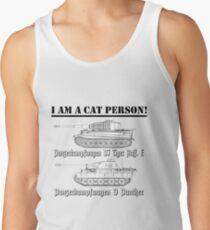 I Am A Cat Person (TANKS) Tank Top