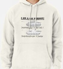 I Am A Cat Person (TANKS) Pullover Hoodie