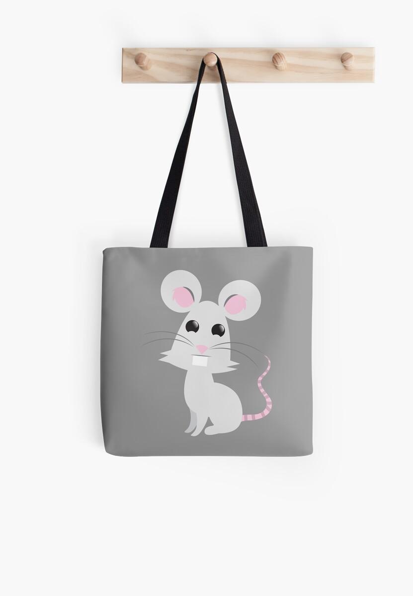 A little grey mouse by jazzydevil