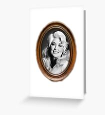Dumb Blonde Dolly Greeting Card