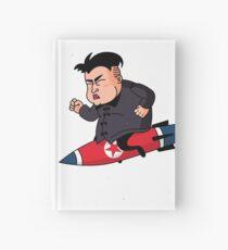 Trump VS Kim Hardcover Journal