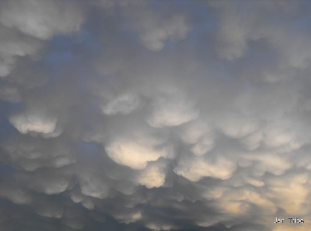 Heavy Rain Clouds by Jan  Tribe