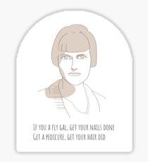 Katherine Mansfield, Missy Elliot mash  Sticker