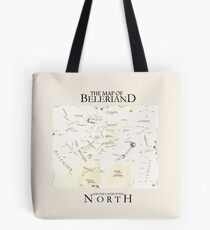 Karte von Beleriand Tote Bag