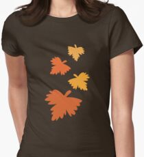 4 fall autumn leaves T-Shirt