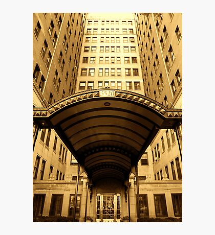 GOLDEN HIGH RISE Photographic Print