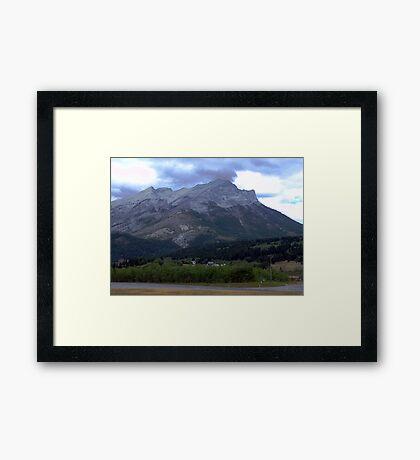 Alberta Foothills Framed Print