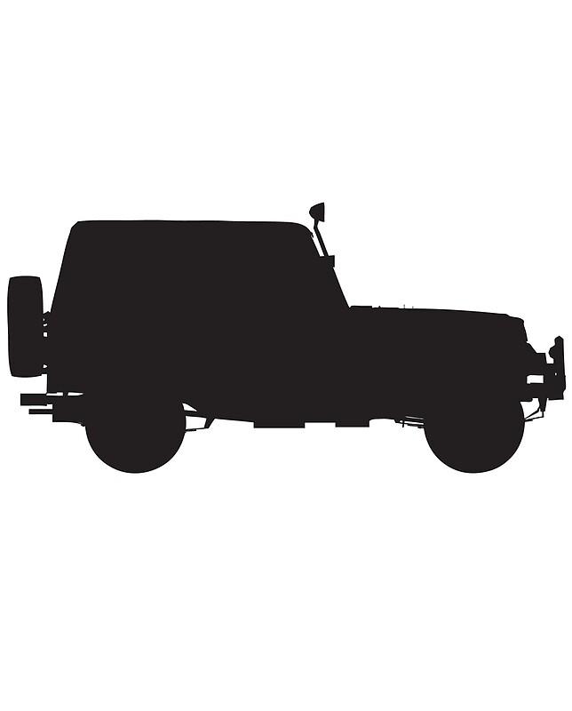 Jeep Silhouette Schwarzer Jeep Jeep Liebhaber Autos Schwarze