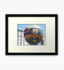 The Paris In Las Vegas Framed Print