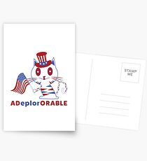Adorable Deplorable Patriotic Kitten Postcards