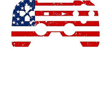 USA Gamer by BiagioDeFranco