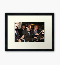 jonny depp Framed Print
