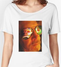 Artist in Contemplative State Women's Relaxed Fit T-Shirt