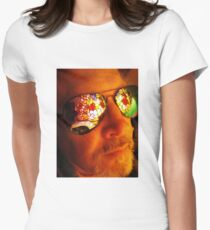 Artist in Contemplative State Women's Fitted T-Shirt