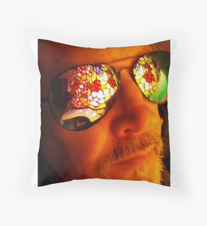 Artist in Contemplative State Throw Pillow