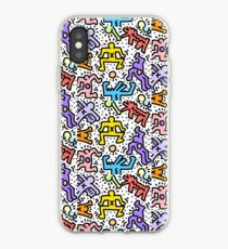 Haring iPhone Case