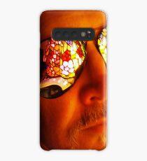 Artist in Contemplative State Case/Skin for Samsung Galaxy