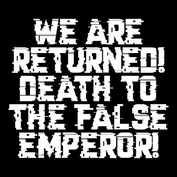 False Emperor Warcry - Marines Battle Cry by gaming-guy