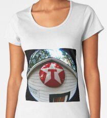 Old Texaco Sign Women's Premium T-Shirt