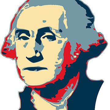 George Washington Pop Art by idaspark