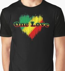 One love Grafik T-Shirt