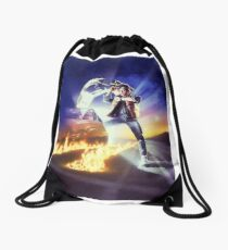 Back to the Future Marty! Drawstring Bag