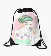 Eat Me Drawstring Bag