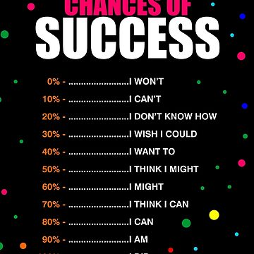 Chances of success... by MOSAICART