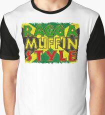 Ragga Muffinstil Grafik T-Shirt